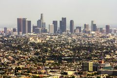 Panoramic city view Royalty Free Stock Photography