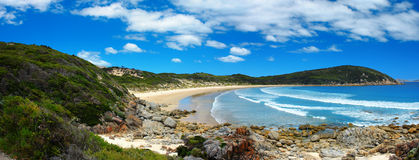 Panoramic Coast Royalty Free Stock Photo