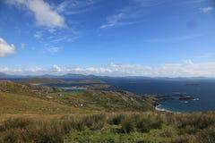 Panoramic coastline Stock Photography