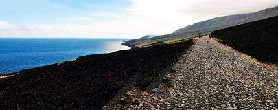 Panoramic Coastline Royalty Free Stock Photo