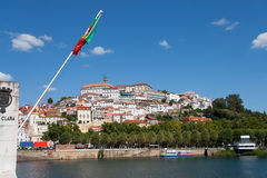 Panoramic of Coimbra Stock Image