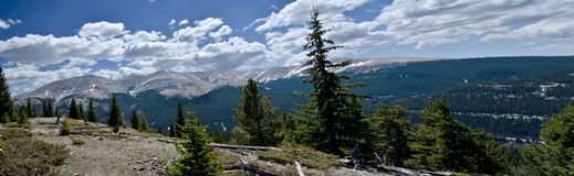 Panoramic Colorado Royalty Free Stock Image