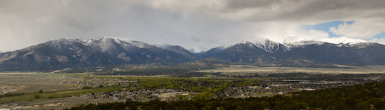 Panoramic Colorado landscape Royalty Free Stock Image