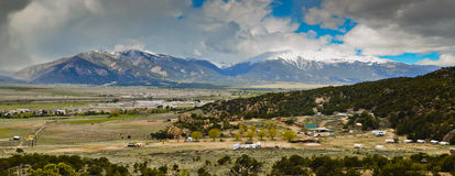 Panoramic Colorado landscape Stock Images