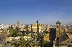 Panoramic of Cordoba city Stock Photos