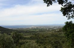 Panoramic Costa Brava Royalty Free Stock Image
