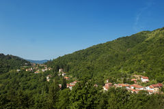 Panoramic countryside Tercesi Royalty Free Stock Photo