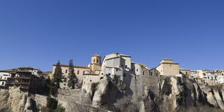 Panoramic of Cuenca, Spain. Stock Image