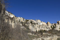Panoramic of Cuenca, Spain. Stock Images
