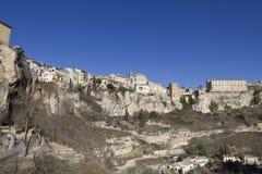 Panoramic of Cuenca, Spain. Stock Image