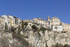Panoramic of Cuenca, Spain. Royalty Free Stock Photos