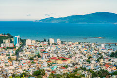Panoramic daytime view of Nha Trang city, popular tourist destination in Vietnam Stock Photography