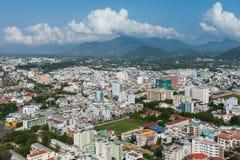 Panoramic daytime view of Nha Trang city, Vietnam Royalty Free Stock Photography