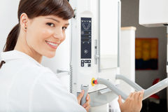 Panoramic Dental X-Ray Machine Royalty Free Stock Photos