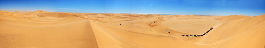 Panoramic Dune Royalty Free Stock Images