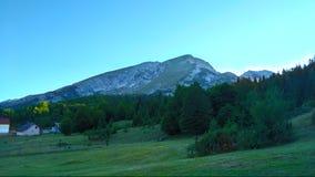 Panoramic Durmitor. Panoramic view to mountain Durmitor in Montenegro royalty free stock images