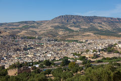 Panoramic of Fez Royalty Free Stock Photography