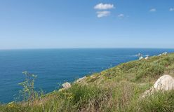 Panoramic Finisterre Royalty Free Stock Photo