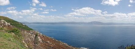 Panoramic Finisterre Stock Images