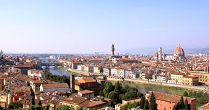 Panoramic Florence Stock Image
