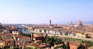 Panoramic Florence Stock Image