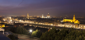 Panoramic of Florence Stock Photos