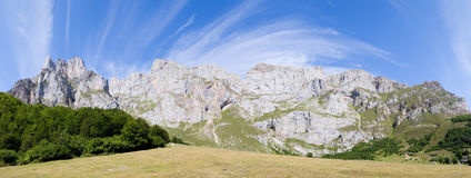 Panoramic of Fuente De Royalty Free Stock Photos