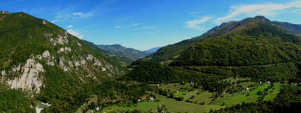 Panoramic image of Montenegro Royalty Free Stock Image