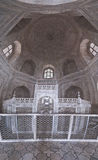 Panoramic interior of Taj Mahal Royalty Free Stock Image