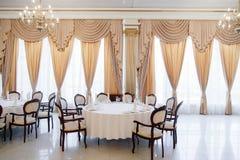Panoramic interior. Panoramic view of luxury living room interior royalty free stock image