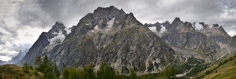Panoramic Italian Alps royalty free stock images