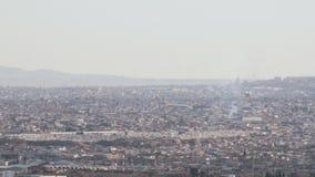 Panoramic Juarez, Mexico. Panoramic wide shot of Juarez, Mexico stock video footage