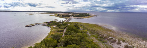 Panoramic at Öland island in Sweden Stock Photography
