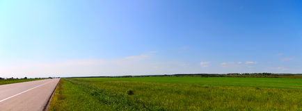 Panoramic landscape Royalty Free Stock Photo