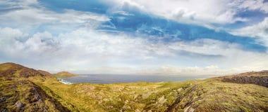 Panoramic landscape of Cod`s Head, Beara Peninsula
