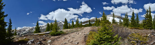 Panoramic  Landscape of Colorado Stock Photo