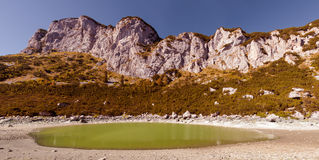 Panoramic landscape. Durmitor National Park - Montenegro  Royalty Free Stock Photos