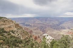 National Monument the Grand Canyon royalty free stock photography