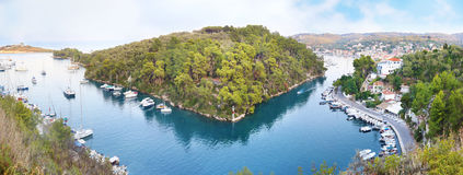 Gaios landscape Paxos island Greece Royalty Free Stock Images