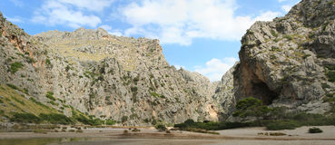 Panoramic landscape on Majorca Stock Photos
