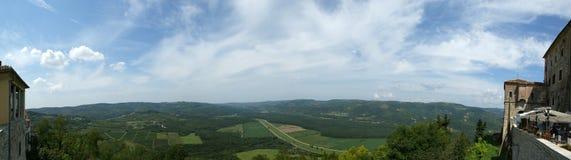 Panoramic landscape royalty free stock photos