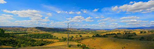 Panoramic landscape photo royalty free stock photo