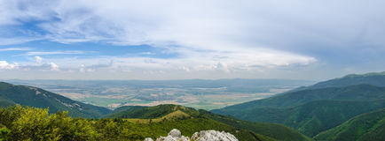 Panoramic Landscape of Shipka in Bulgaria Eastern Europe Stock Images