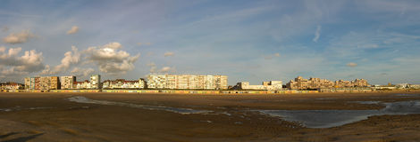Panoramic From Le Touquet Stock Photography