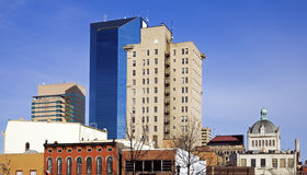 Panoramic Lexington. Panoramic downtown of Lexington, Kentucky, USA Stock Photography