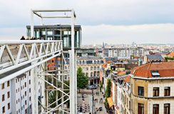 Panoramic lift Ascenseur des Marolles Stock Photography