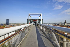 Panoramic lift Ascenseur des Marolles Royalty Free Stock Images