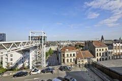 Panoramic lift Ascenseur des Marolles Stock Images