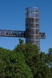 Panoramic lift elevator in Cartagena,Murcia Spain Stock Images