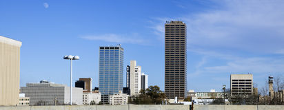 Panoramic Little Rock, Arkansas Stock Images